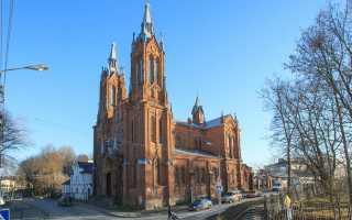 История храма Непорочного Зачатия Пресвятой Девы Марии в Смоленске