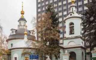 История храма Косьмы и Дамиана в Москве на Маросейке: от самых первых упоминаний о Космодамианской церкви