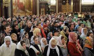 Как молиться в церкви