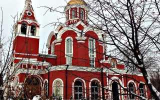 Храм Благовещения Пресвятой Богородицы Петровском парке Москвы: расписание служб