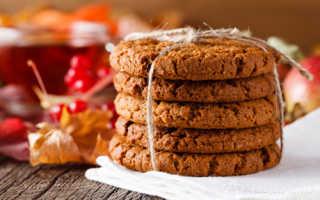 Пошаговый рецепт постного овсяного печенья: варианты приготовления и варианты с фото