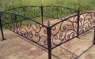Какая ограда на могилу лучше
