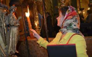 Значение 33 иерусалимских свечей: как использовать святыню из Иерусалима, когда зажигать и что с ними делать