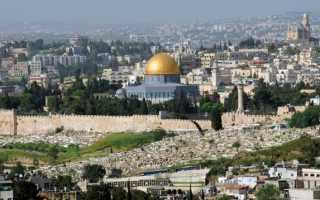 Где находится Храм Гроба Господня в Израиле: его история