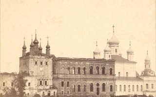 Успенский Горицкий монастырь в Переславле-Залесском: история, фото и официальный сайт