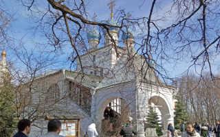 История храма Казанской иконы Божией Матери в Коломенском: часы его работы и время богослужений