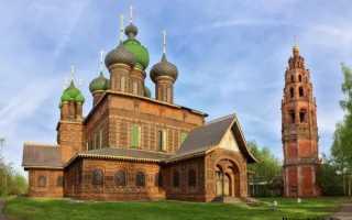Церковь Усекновения главы Иоанна Предтечи в Толчкове: ее история и архитектура