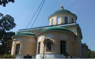 Храм Сошествия Святого Духа на Даниловском Кладбище: история, адрес