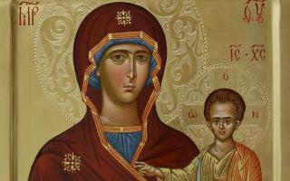 Что такое икона Божией Матери Одигитрии: описание и значение