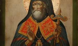 Житие чудотворца Митрофана Воронежского по святой молитве и просьбе помогающего всем