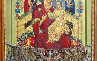 Икона Всецарица: чем помогает и в чем значение образа, какую молитву читать
