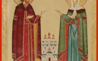 Икона Петр и Феврония: чем помогает, значение и где она находится